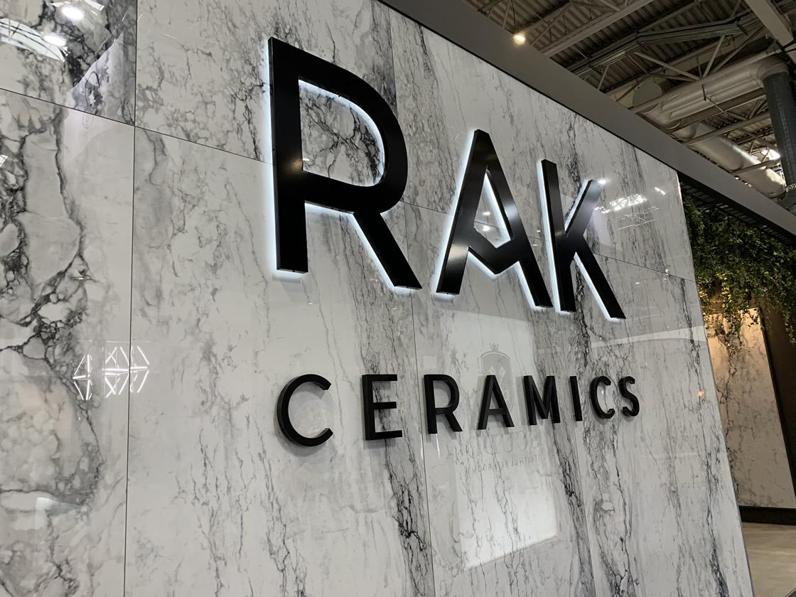 RAK ceramics stand