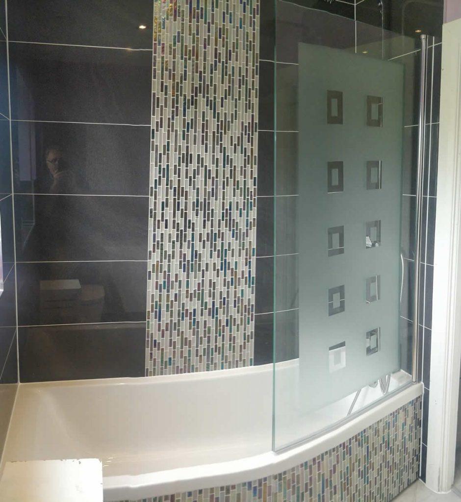 Compact Bespoke Bathroom in Redhill Surrey