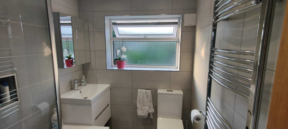 Completed Bathroom Installation in Redhill Surrey - Goodwin
