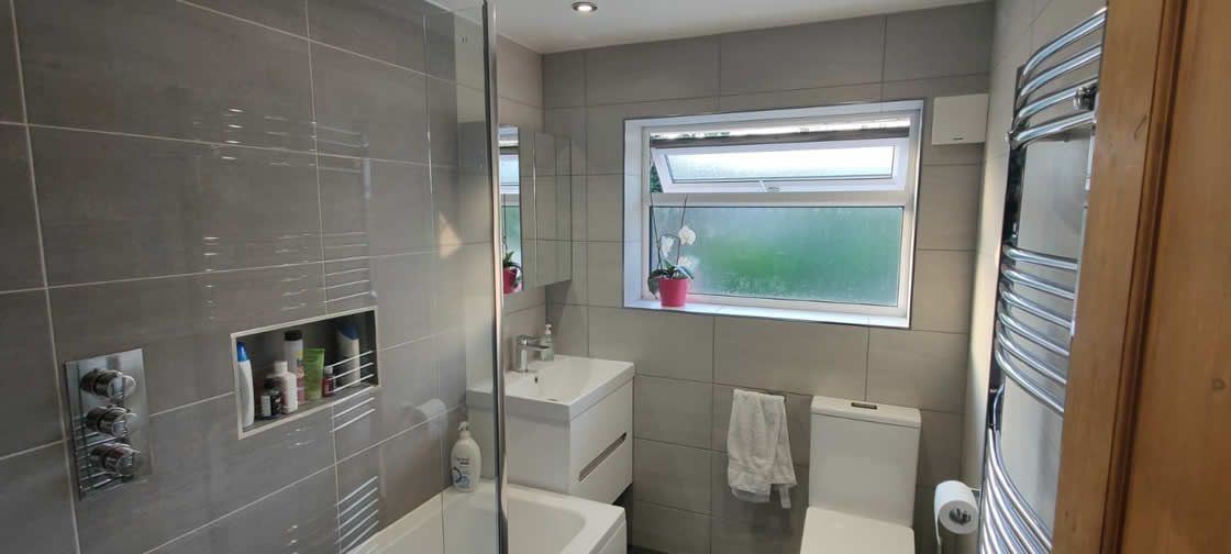 Wetroom Installation in Redhill Surrey - Goodwin