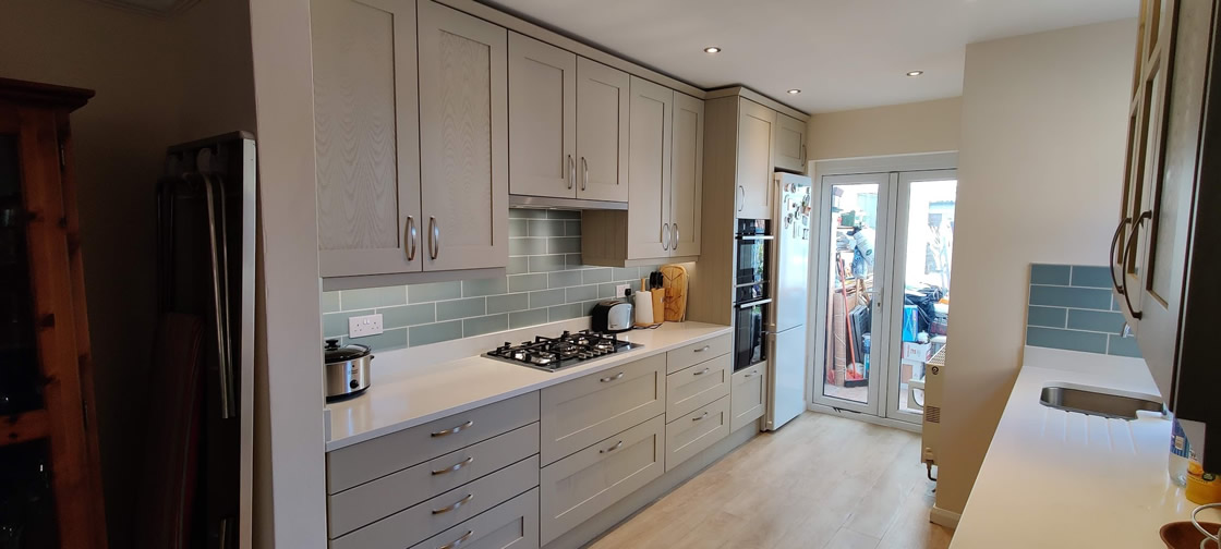Bespoke Kitchen Design in Farrow and Ball French Grey - Thickett