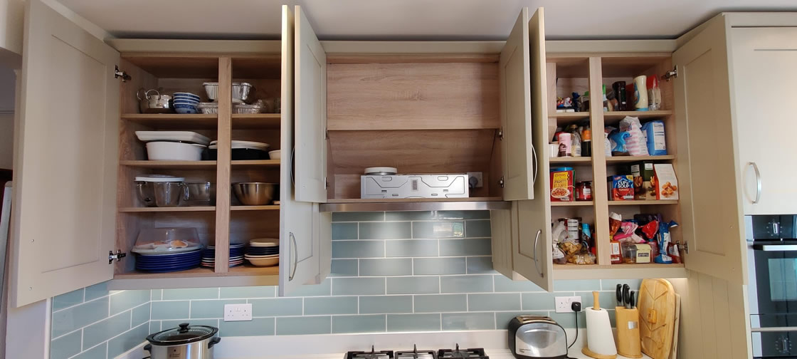 Custom Kitchen Design in Sutton - Farrow and Ball French Grey - Thickett
