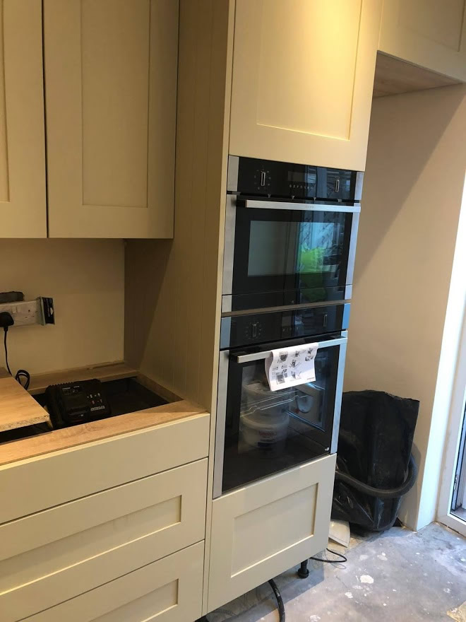 Thickett Bespoke Kitchen During Construction - Sutton in Surrey (10)