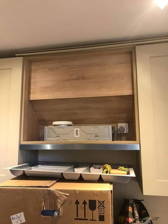 Thickett Bespoke Kitchen During Construction - Sutton in Surrey (4)