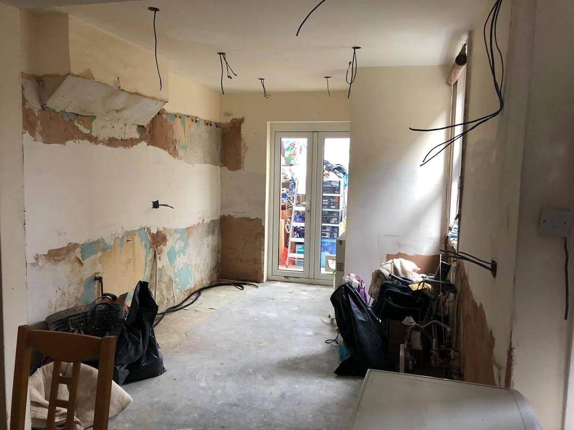 Thickett Bespoke Kitchen During Construction - Sutton in Surrey (6)
