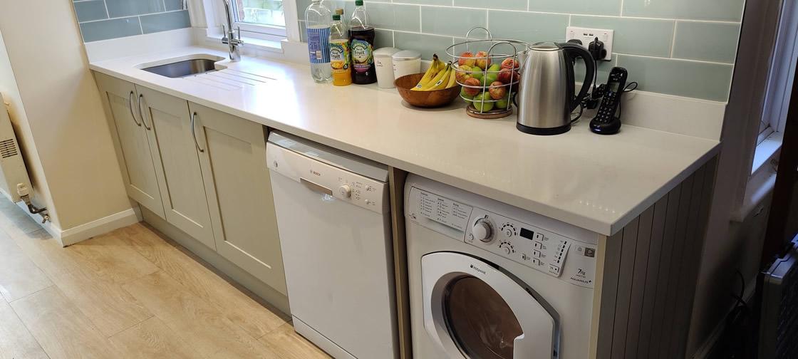 Utility Area in Bespoke Kitchen Design in Surrey - Thickett