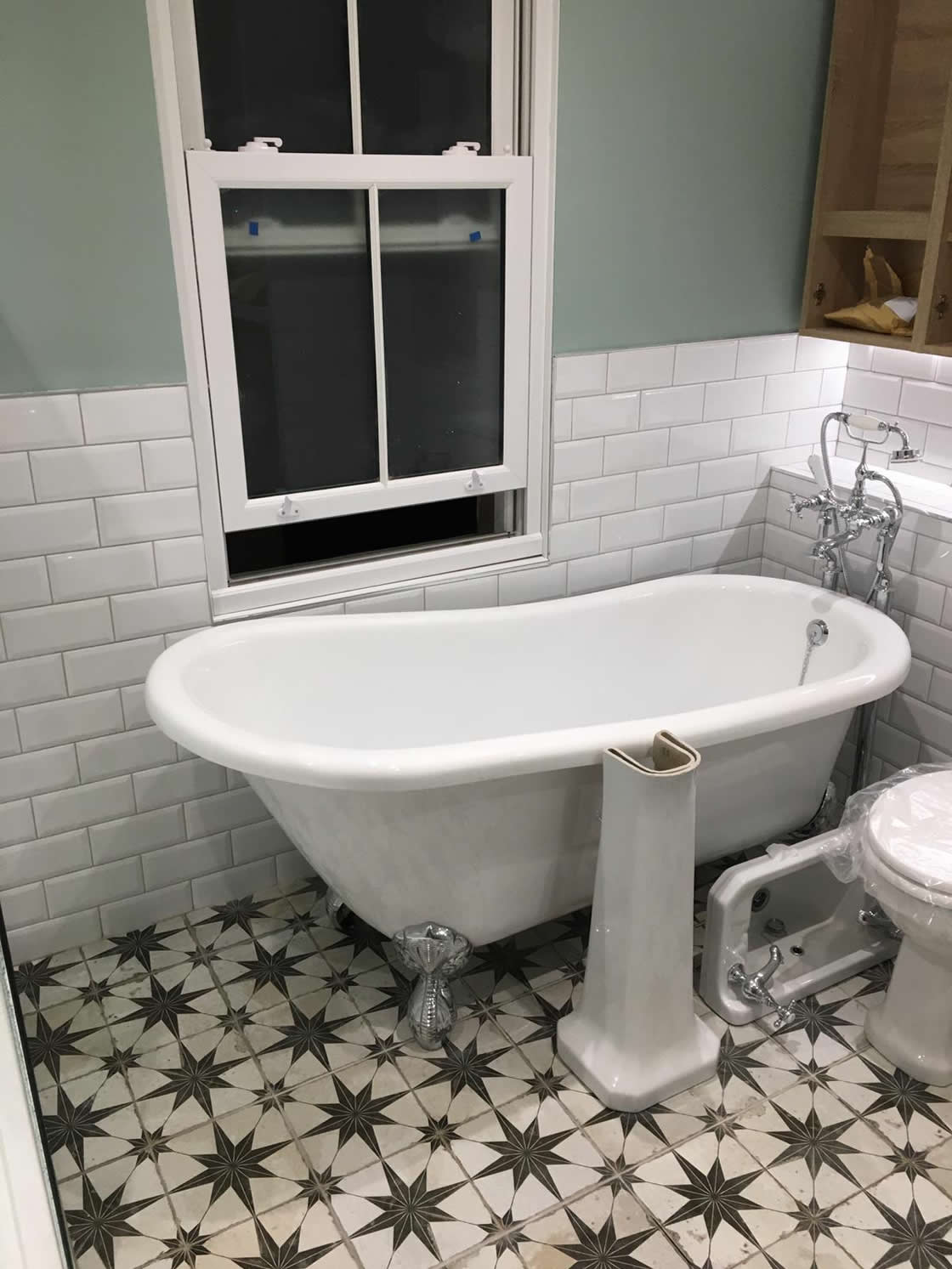 Victorian Style Bathroom Completion Pictures (14)