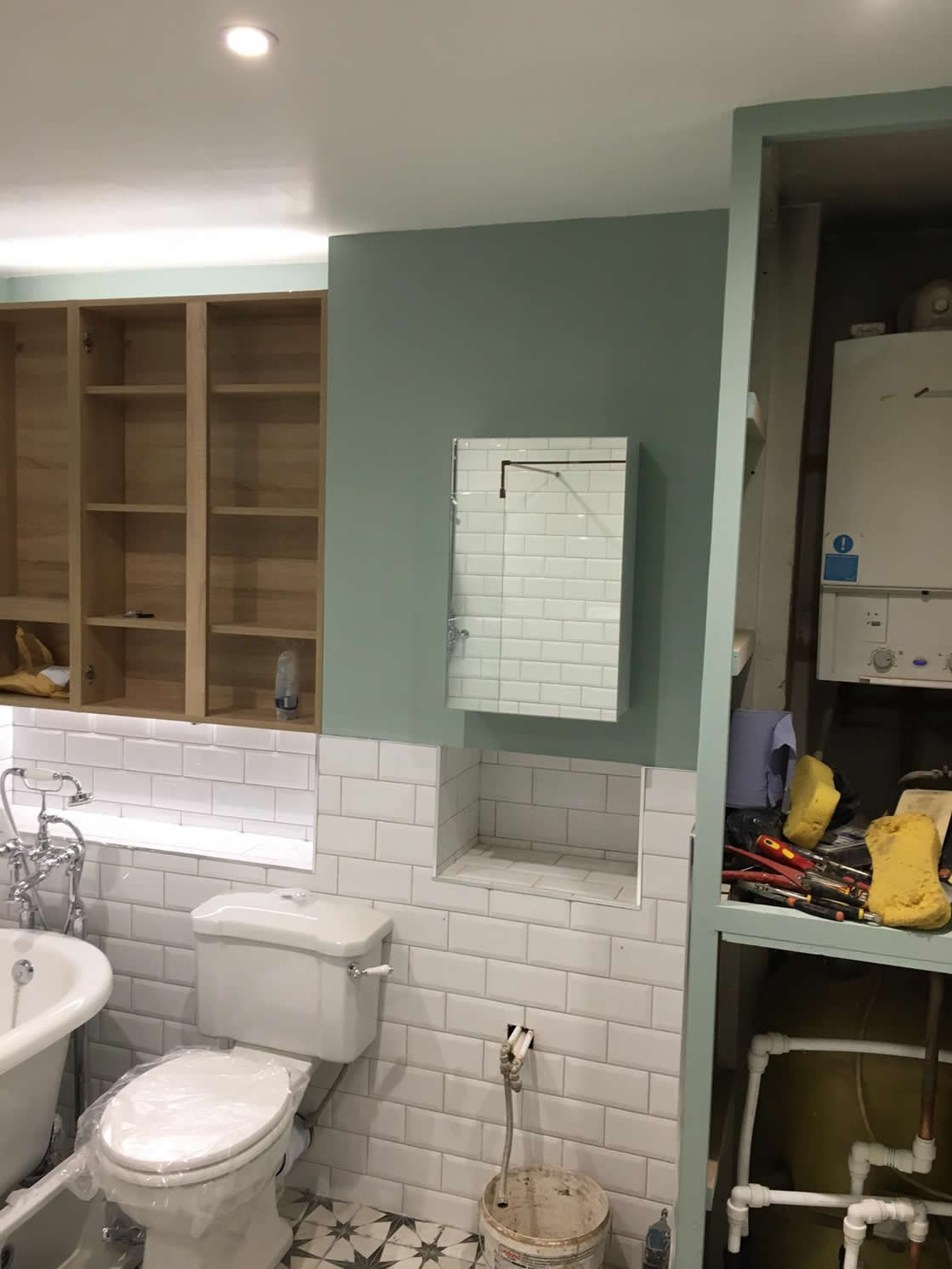 Victorian Style Bathroom Completion Pictures (7)