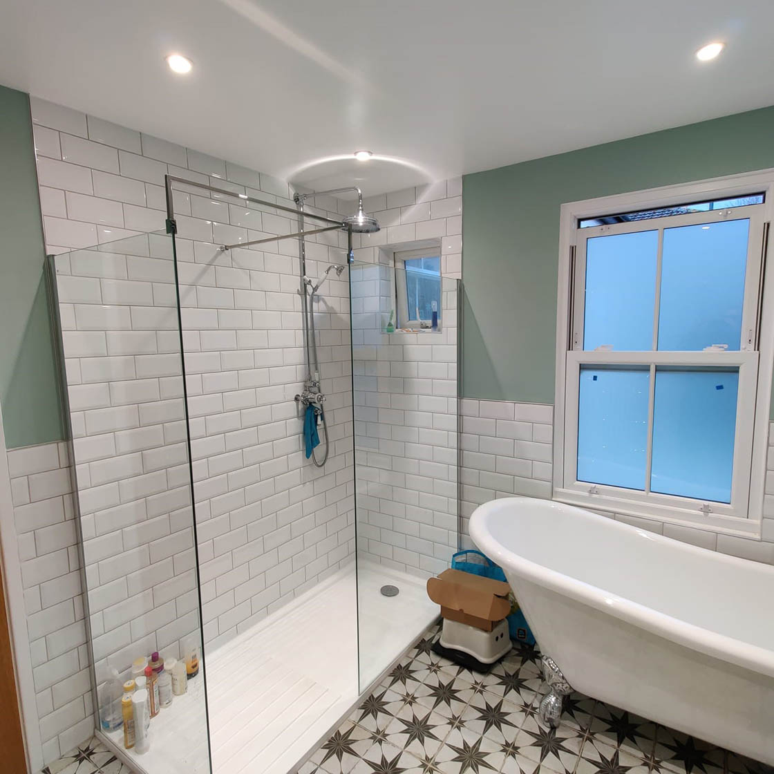 Victorian Style Bathroom Renovation in Redhill Surrey - Revisit Picture 1