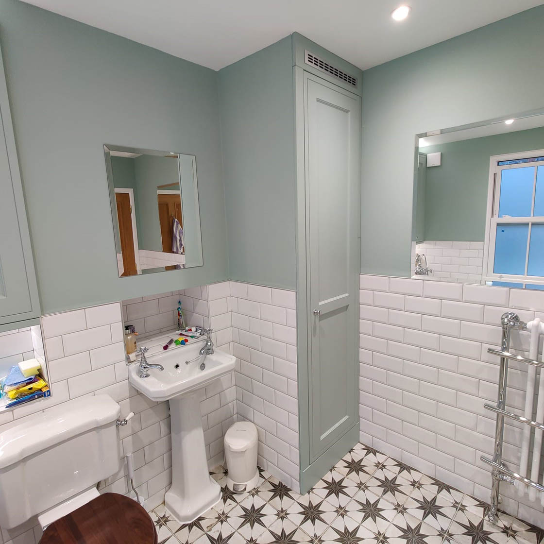 Victorian Style Bathroom Renovation in Redhill Surrey - Revisit Picture 2