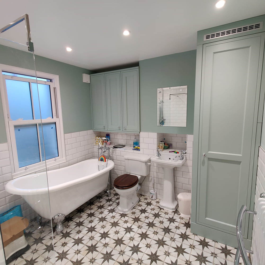 Victorian Style Bathroom Renovation in Redhill Surrey - Revisit Picture 4