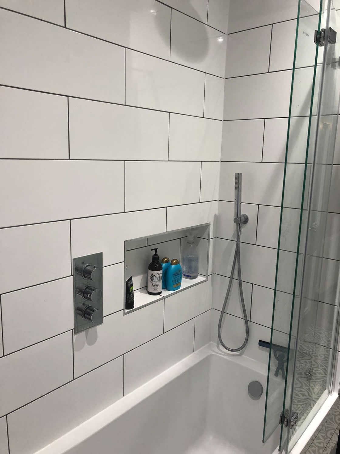 Built in Shower and Shelf - Deerings Road in Redhill