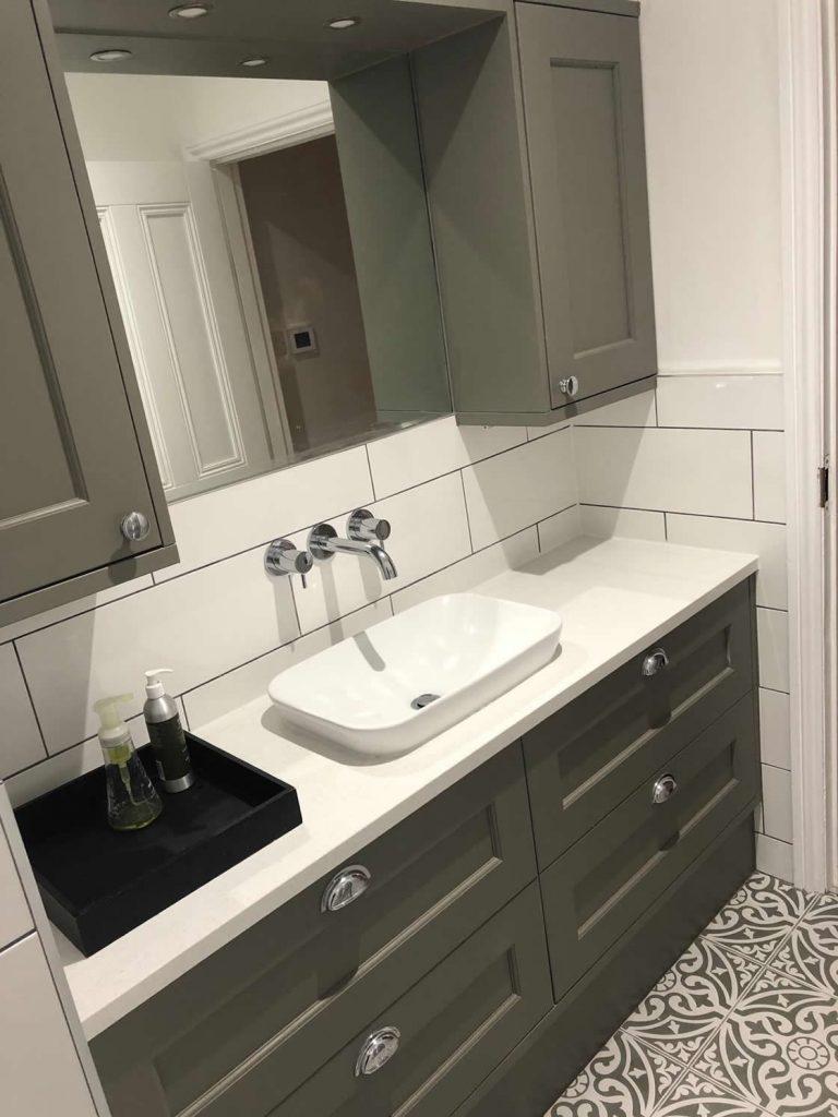 Shaker Bathroom Furniture - Deerings Road in Redhill