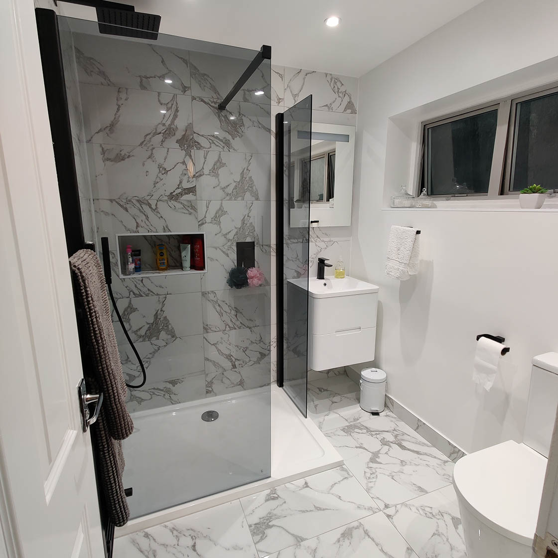 New Bathroom Renovation Project in Crawley - Scotts Road