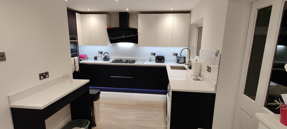New Kitchen Design in Redhill Surrey - Brooklands