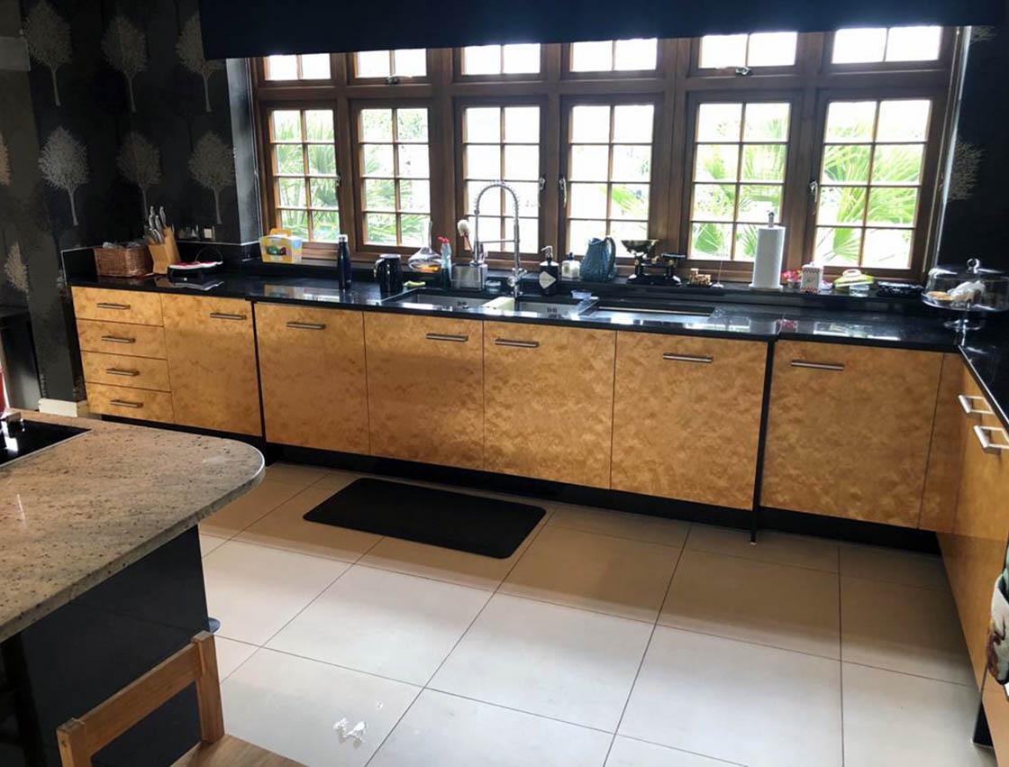 Fetcham Kitchen Before Door Replacement - Aaron