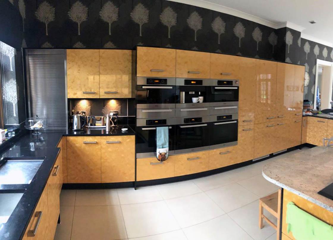 Fetcham Kitchen Before Door and Island Replacement - Aaron