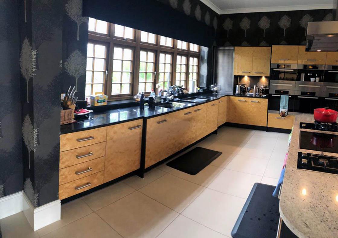 Surrey Kitchen Before Door Replacement - Aaron