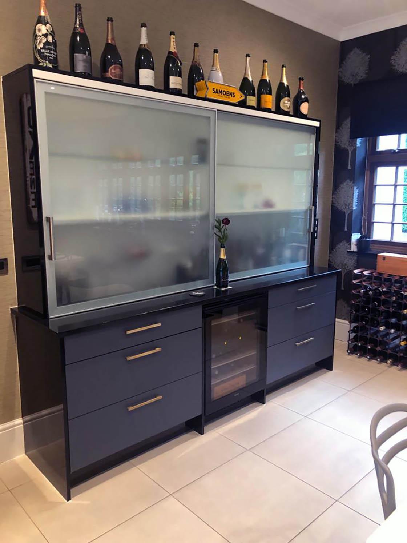 Surrey Kitchen Door Replacement in Zurfix Kombu Matt Green