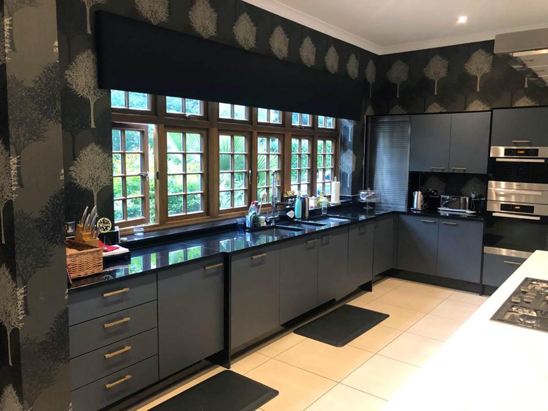 Zurfix Kombu Dark Matt Green Kitchen Door Replacement in Fetcham Surrey