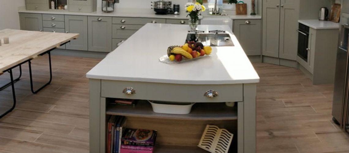 Bespoke Kitchen in French Grey