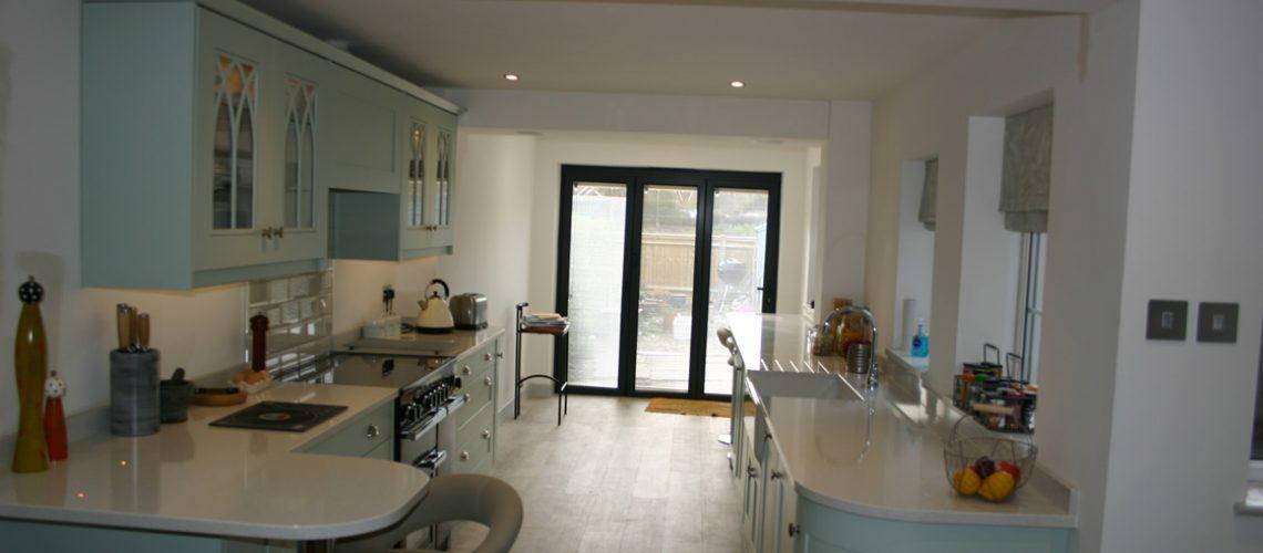 Bespoke Shaker Kitchen installed in Merstham Surrey